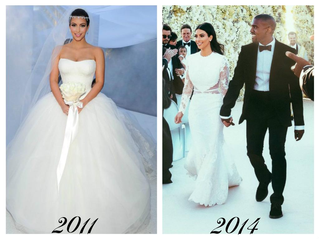 Celebrity - nevěstou dvakrát, třikrát i osmkrát :-D - Kim Kardashian