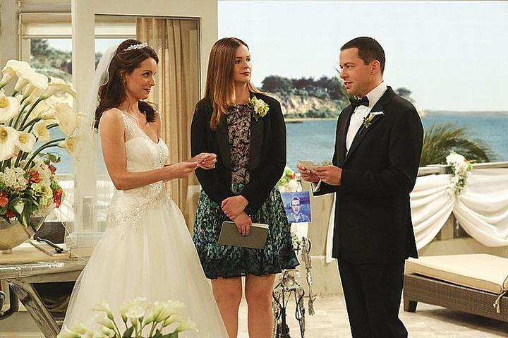 Svatby z filmů a seriálů - Dva a půl chlapa