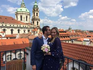 Nicole Vaidišová a Radek Štěpánek (25. 5. 2018)