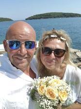Pavel Nečas s manželkou (2018)