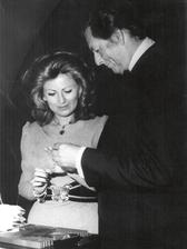 Helena Šťáchová a Miloš Kirschner (1972)