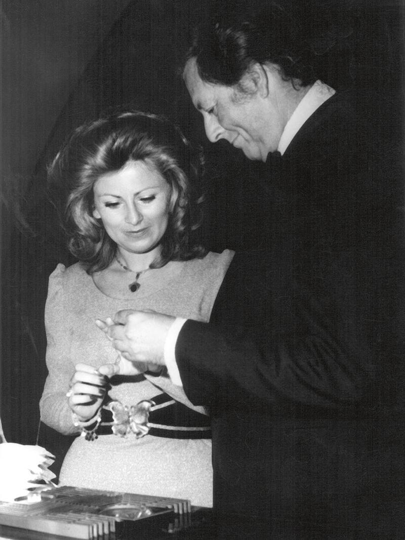 Svatby celebrit - Helena Štáchová a Miloš Kirschner (1972)