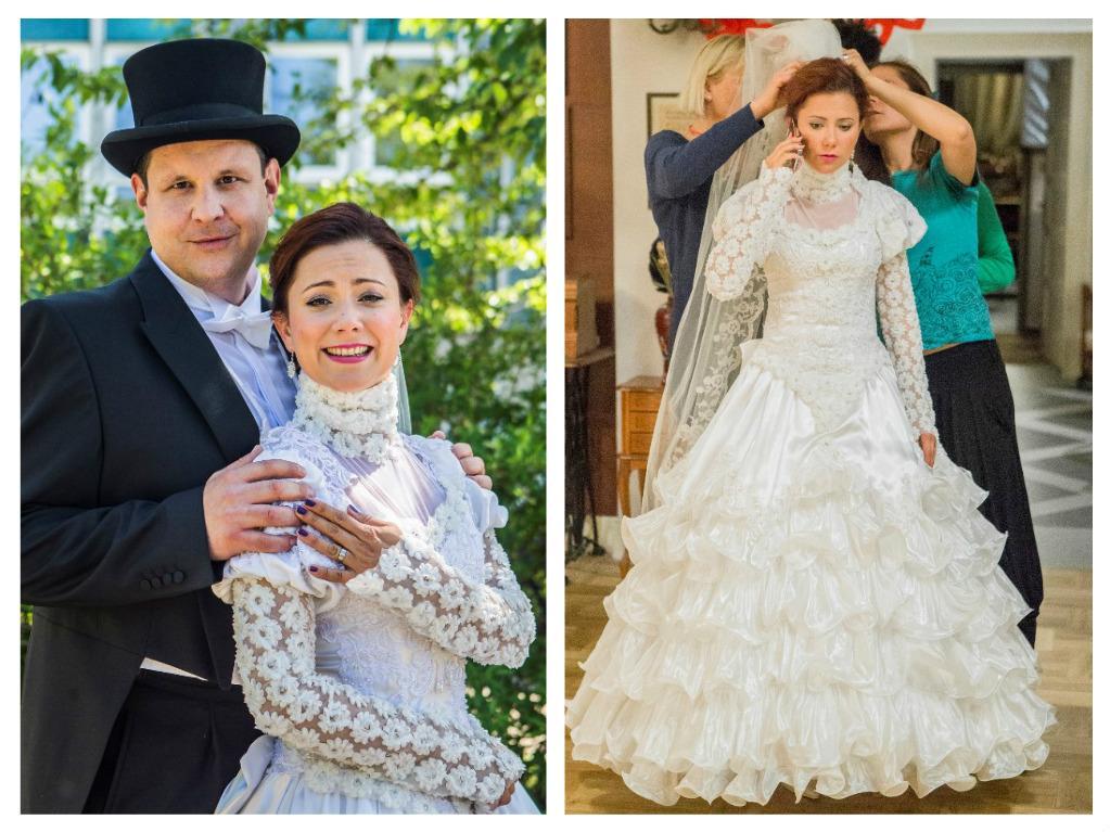 Svatby z filmů a seriálů - Krejzovi
