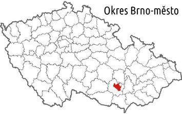 Okres Brno - město