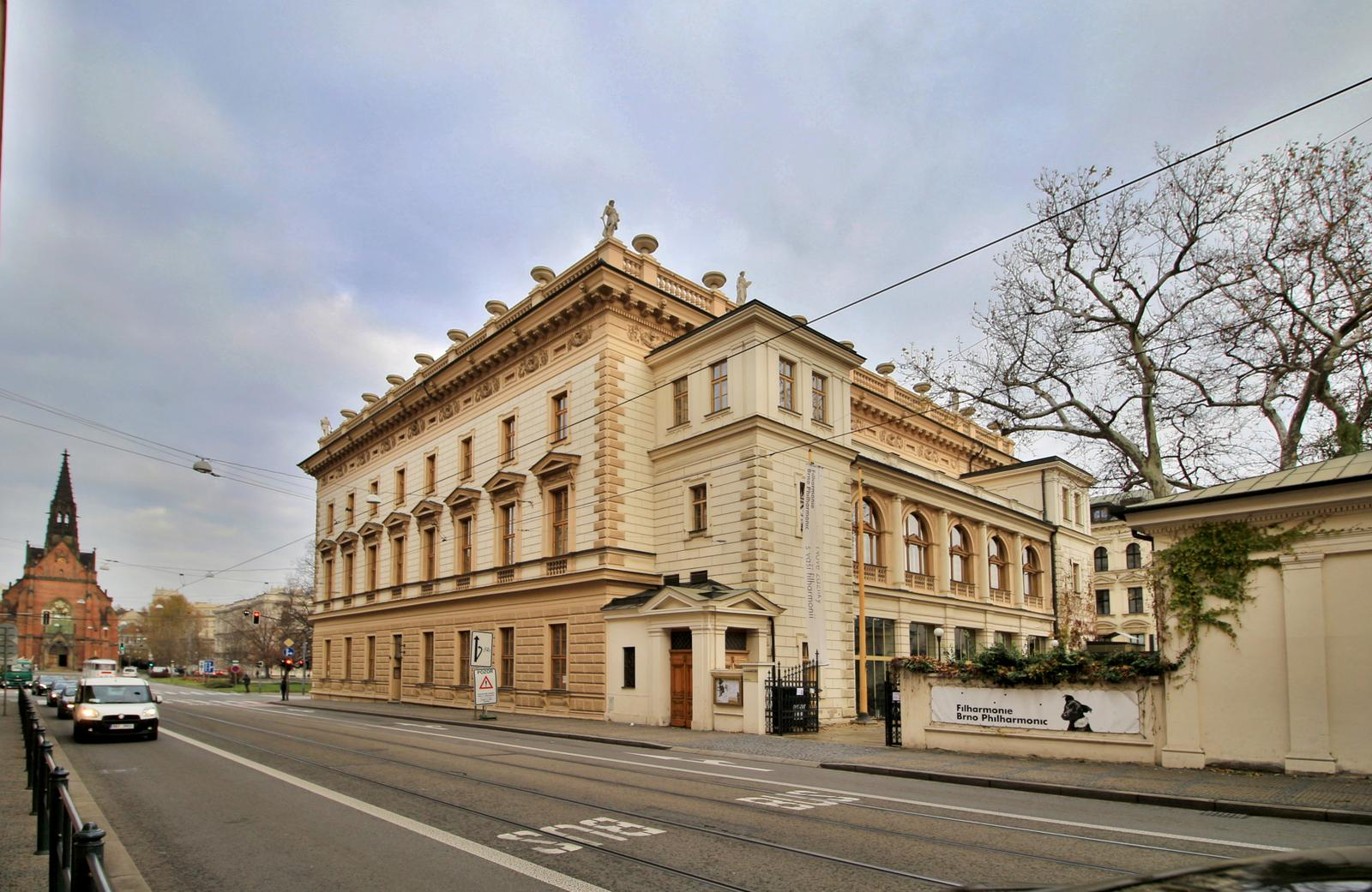 Místa pro svatbu - Besední dům Brno