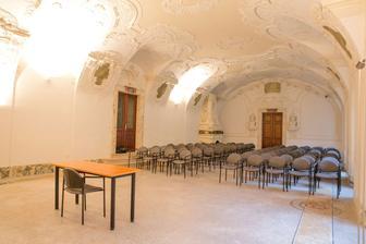 Augustiánské opatství a farnost Brno - Mendelův refektář
