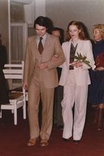 Milan Kňažko s manželkou Eugenií