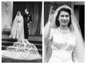 Královna Alžběta II. a Princ Philip, vévoda z Edinburghu (1947)