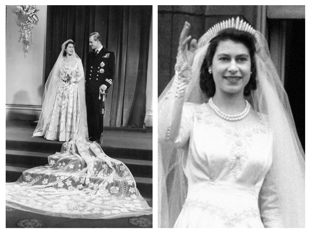 Svatby celebrit - Královna Alžběta II. a Princ Philip, vévoda z Edinburghu (1947)
