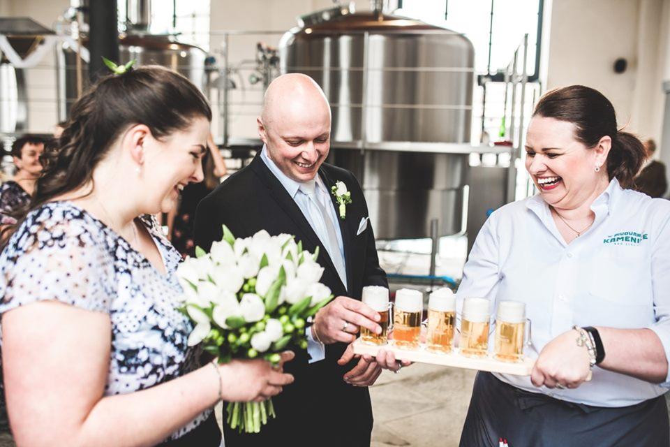 Kdyby svatbu plánoval ženich aneb láska v pívu :D - Pivovar Kamenice nad Lipou