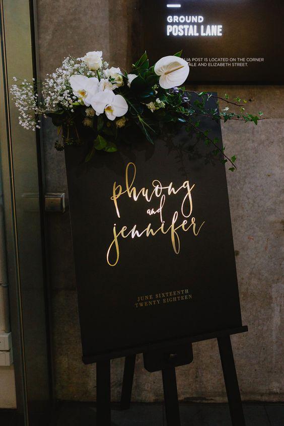 Černo-zlatá svatba - Obrázek č. 53
