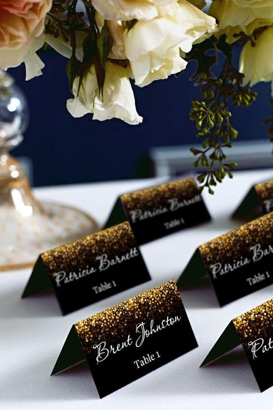 Černo-zlatá svatba - Obrázek č. 54