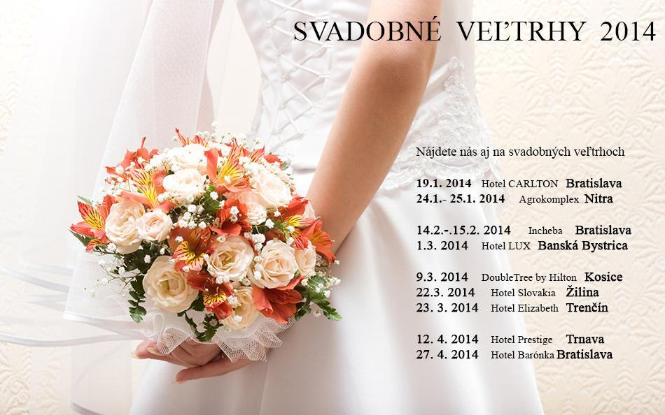 Sme tu pre Vás aj na Svadobných veľtrhoch 2014 - Nová kolekcia svadobných obrúčok 2014