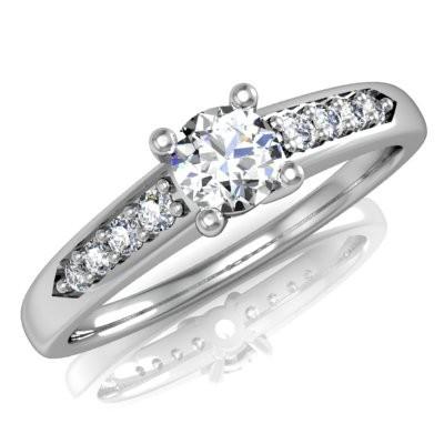 Nové zásnubná prstene v ponuke KIM GOLD - R023