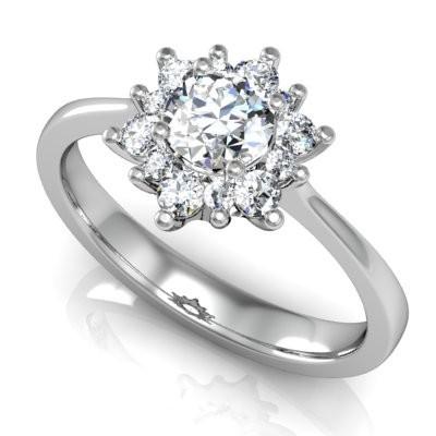 Nové zásnubná prstene v ponuke KIM GOLD - R027