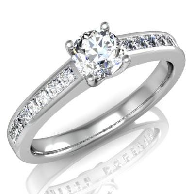 Nové zásnubná prstene v ponuke KIM GOLD - R029