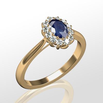 Nové zásnubná prstene v ponuke KIM GOLD - R032