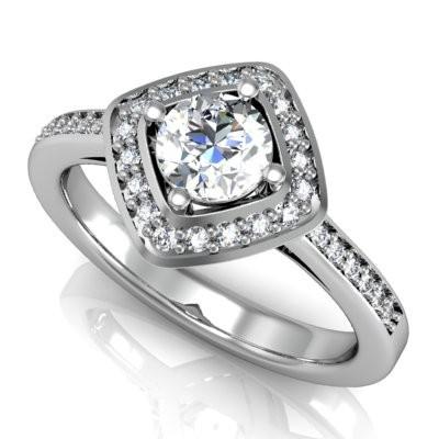 Nové zásnubná prstene v ponuke KIM GOLD - R039