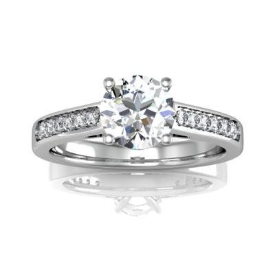 Nové zásnubná prstene v ponuke KIM GOLD - R043
