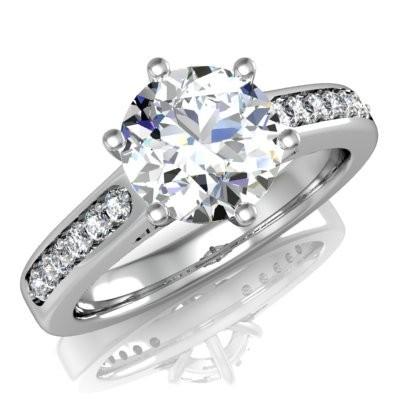 Nové zásnubná prstene v ponuke KIM GOLD - R047
