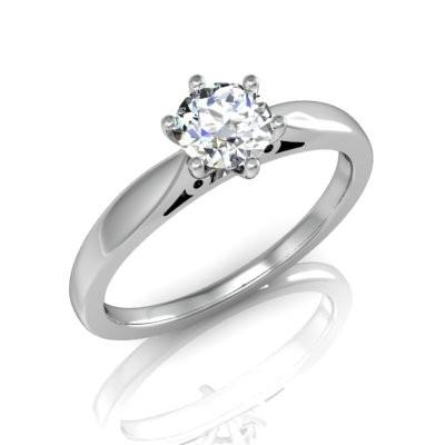 Nové zásnubná prstene v ponuke KIM GOLD - R057