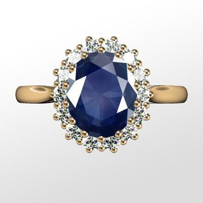 Nové zásnubná prstene v ponuke KIM GOLD - R058