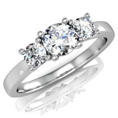 Nové zásnubná prstene v ponuke KIM GOLD - R067