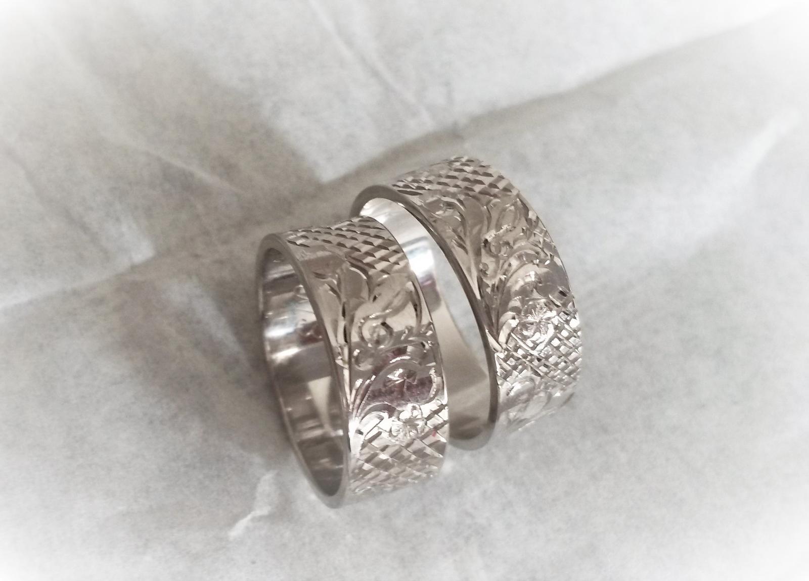 Široké snubní prsteny jsou v kurzu :-) - Obrázek č. 4