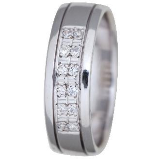 Zlatý snubní prsten značky Benet - model 866 - Obrázek č. 1