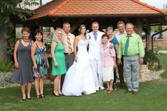 s rodinou manžela