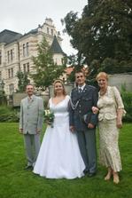 s tetou Majkou a strejdou Milanem