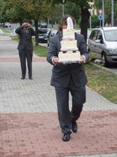 tatínek za dortem