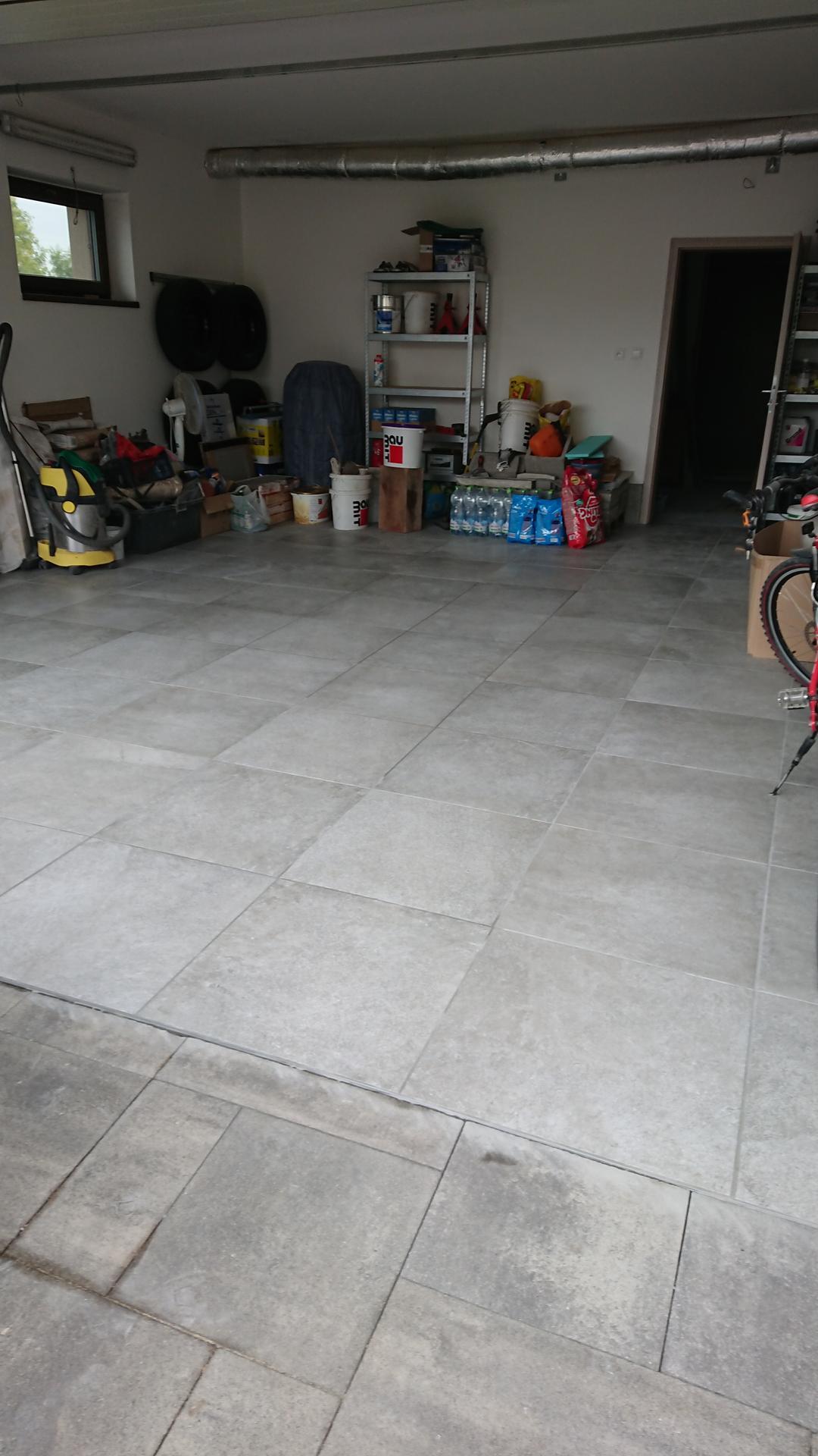 Dlazba v garazi - Obrázok č. 2