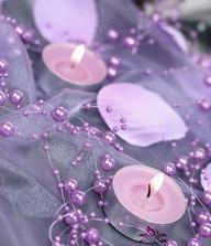 perličky ke svíčkám