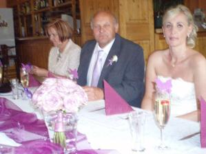 já s rodiči ženicha
