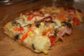 cuketova pizza