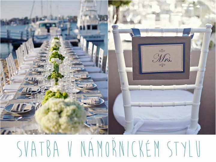 Navy / námořnický styl - Inspirace pro svatbu v námořnickém stylu s odkazy kde co koupit zde http://photographicka.blogspot.cz/