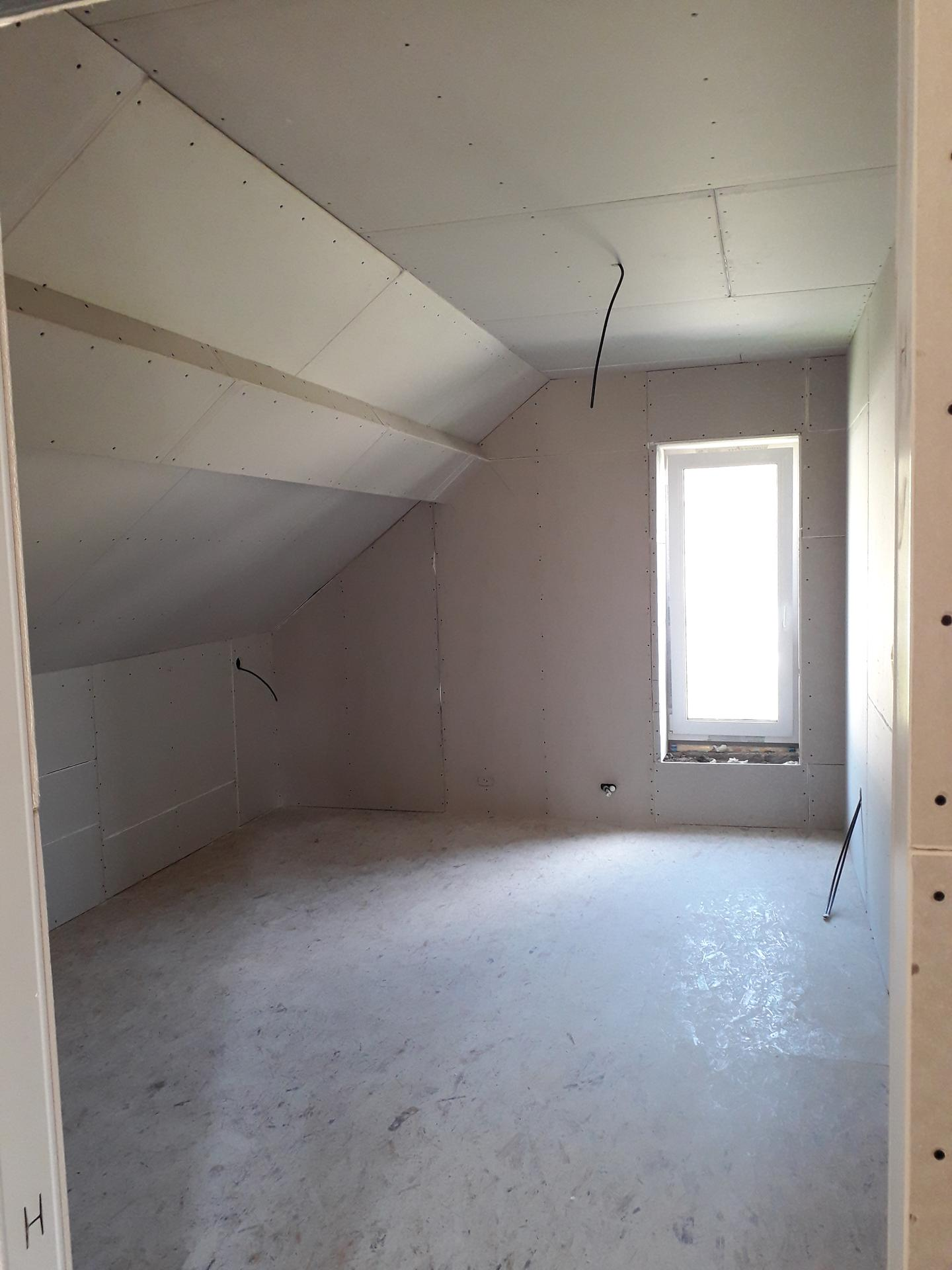 Dom/rekonštrukcia, sen/náročné obdobie :-) - izba- dcéra 10/2019