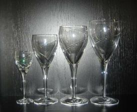 krištáľové svadobné poháre z Poltára by boli fajn