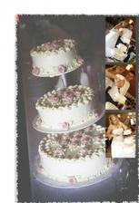 Dort a krájení dortu