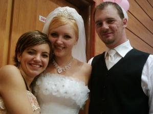 Ja, môj manžel a moja sestra Simonka