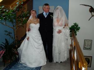 falešná nevěsta, otec nevěsty a nevěsta