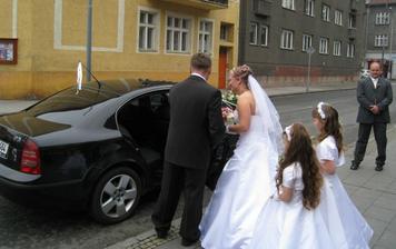 nástup do auta