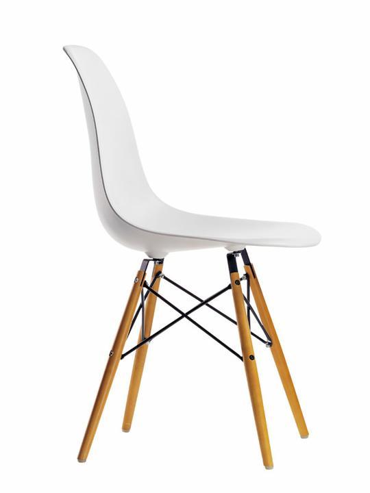 Jedálenské stoličky a kresielka Vitra - Eames Plastic Side chair - Vitra