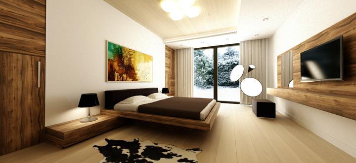 cubica - návrh interiéru spálne