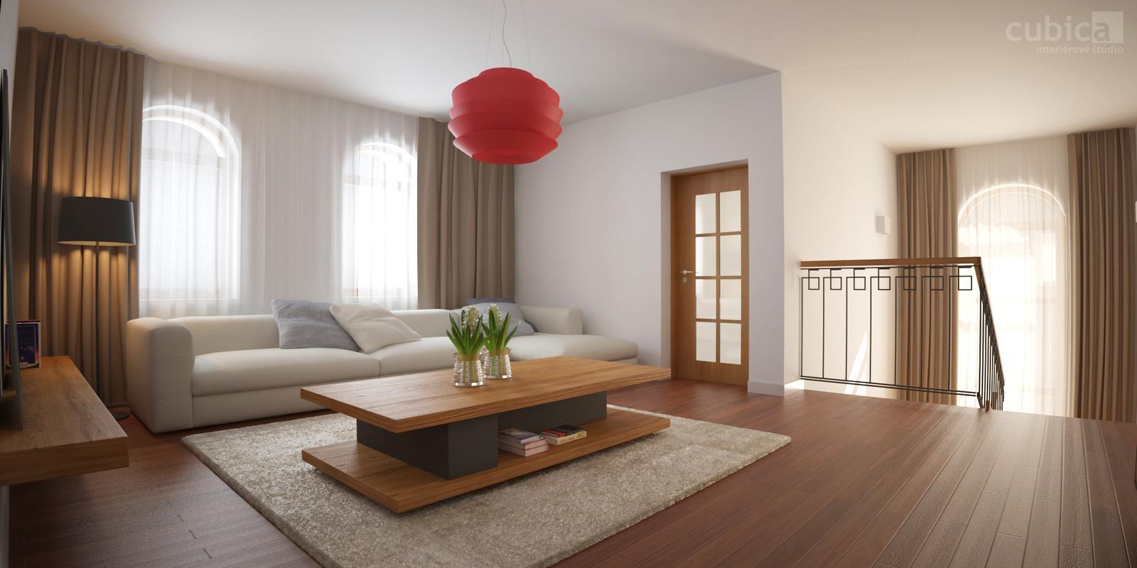Návrh interiéru rodinného domu - Návrh interiéru rodinného domu