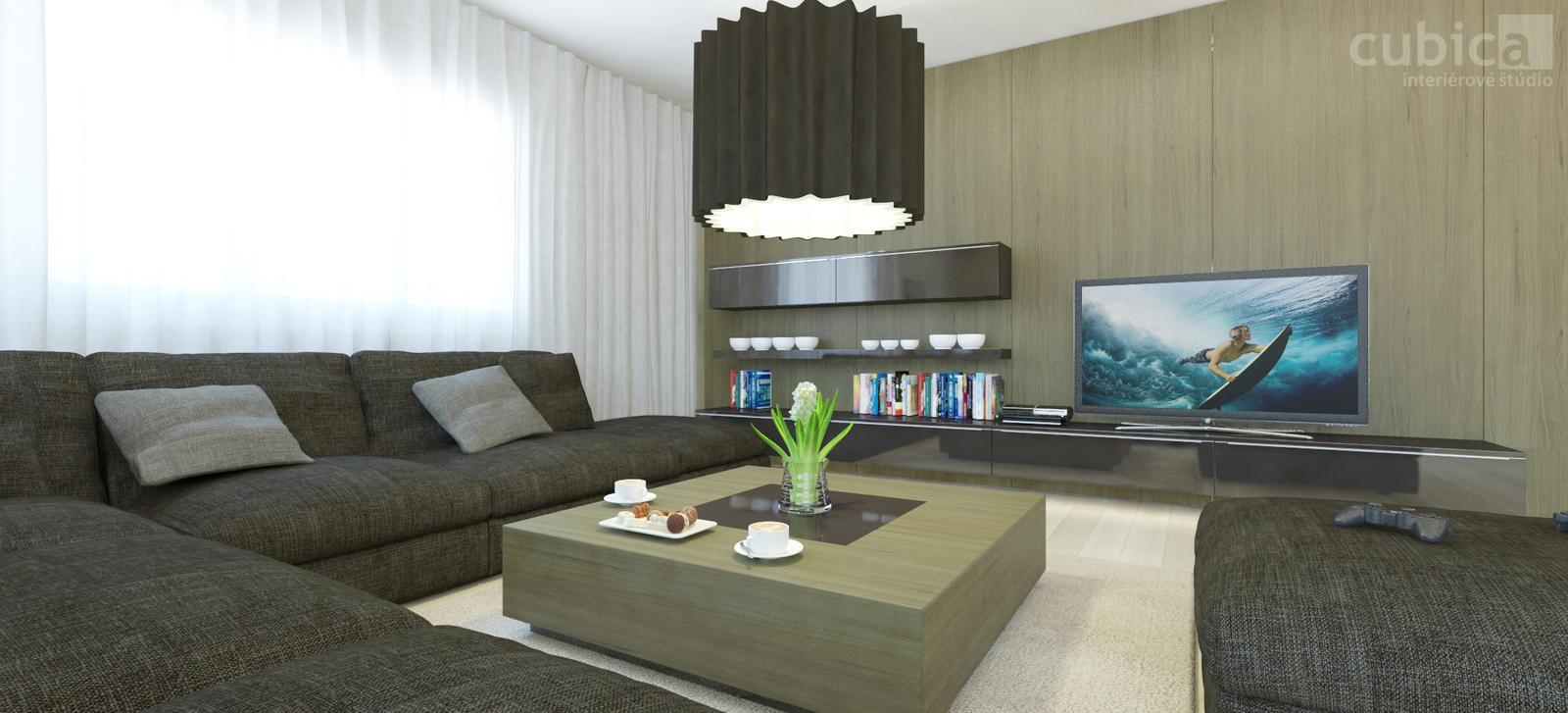 Návrh interiéru bytu v Bratislave - Návrh interiéru bytu