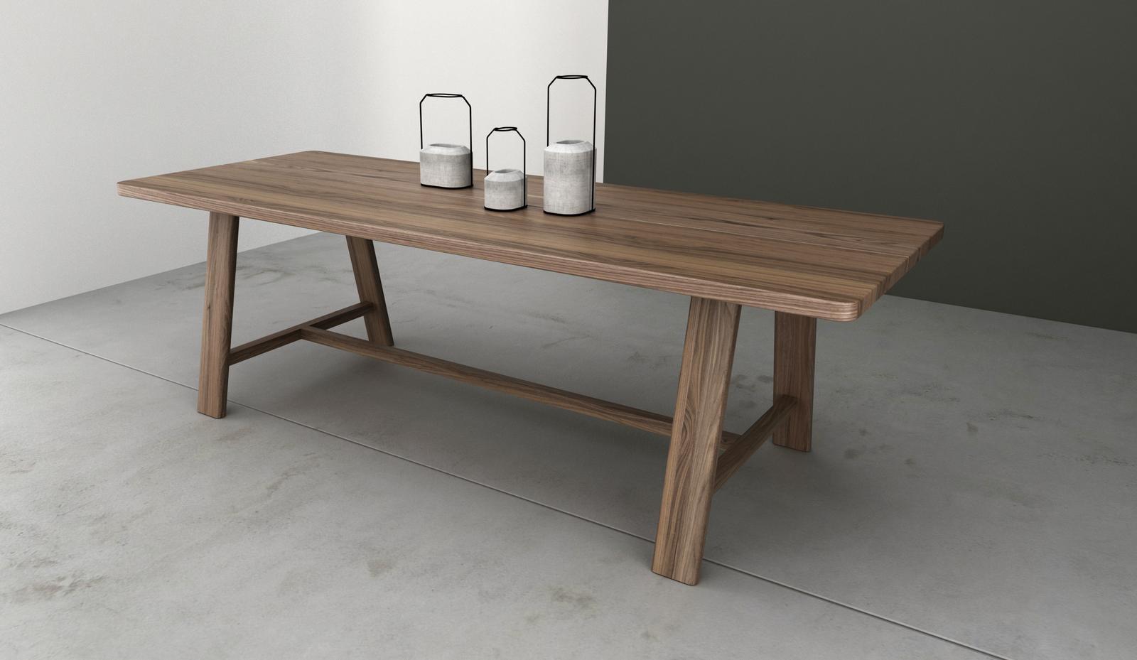 Jedálenský stôl FARM by Cubica - Jedálenský stôl FARM by Cubica - nohy v strede