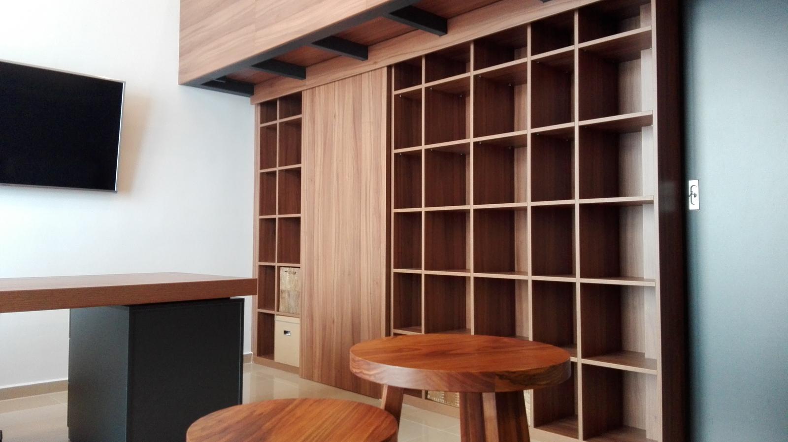 Dizajn a výroba nábytku na mieru Cubica - Knižnica