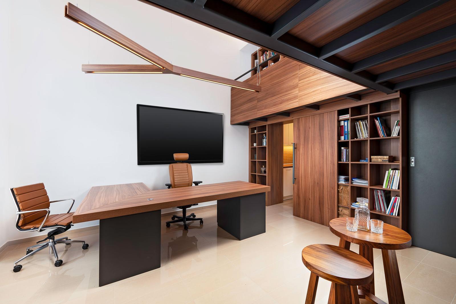 Návrh a realizácia interiéru - reprezentatívna loftová kancelária - Dizajn a realizácia interiéru - reprezentatívna loftová kancelária
